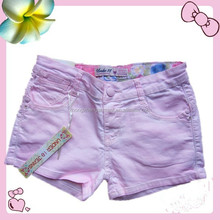Girls summer pocket shorts sexy girl denim shorts