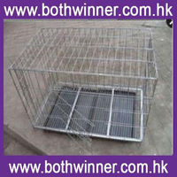 """KA026 48"""" folding pet crate kennel wire cage for dogs /cats or rabbits"""