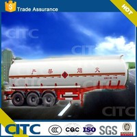 carbon steel storage tank/diesel tank design new chemical liquid semi tractor trailer CITC