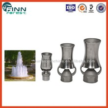 stainless steel water spray nozzle music factory fountain nozzle for music water fountain