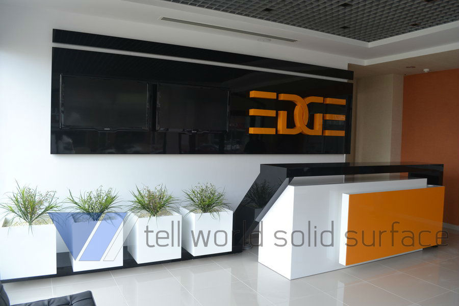 Restaurant Reception Counter Design