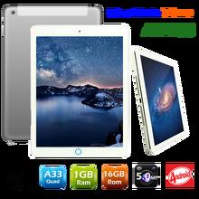 Slim metal body Allwinner A33 Quad Core 1GB Ram 16GB Rom 9.7 inch android tablet