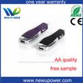 pequeno usb wireless carregador móvel barato no carro para o iphone 5 com 500mA para 2A carregamento Taxa