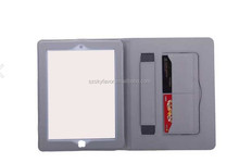 New arrival Camouflage Ultra thin holding leather case for iPad mini