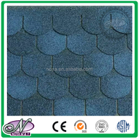 20 Year warranty professional manufactures coloured glaze fish scale roof shingles with high quality