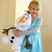"Fashion Frozen Olaf Snowman 10"" 25 cm Plush Soft Stuffed Toy"