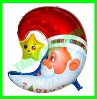 Christmas Santa Balloons,Santa with Moon