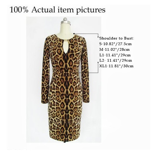 Женское платье Bodycon #04556