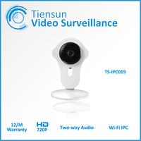 Tiensun Mini Wifi IP Camera Wireless 720P TF SD Card Baby Monitor Security Camera Home Protection Mobile Remote Cam