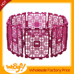 Hot selling pet dog products high quality purple dog kennel