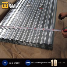 TDC51D+AZ Corrugated Steel Roofing Sheets Hot Dipped For Family House SGLCC