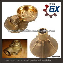 cast copper motorcycle parts foundry