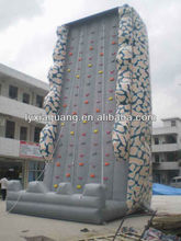 Summer water games funny hot sale inflatable climbing wall