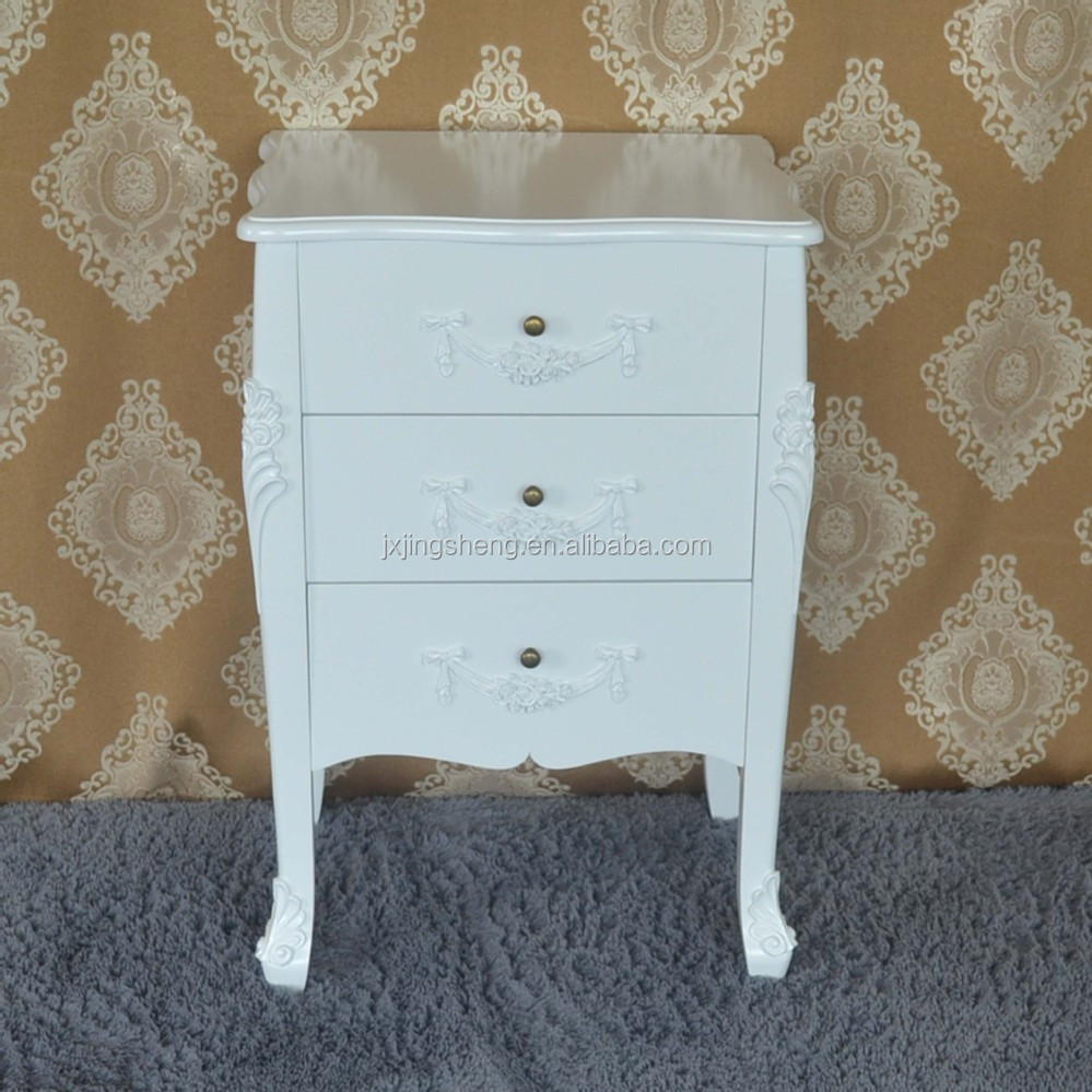 Wooden bedside table white drawer chest leroy merlin - Table a tapisser leroy merlin ...