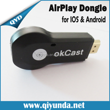 QYD Ezcast M2 OTA Miracast TV Dongle for IOS/Android/Windows DLNA Miracast Airpaly Mirror OP Linux OS Android WiFi Display