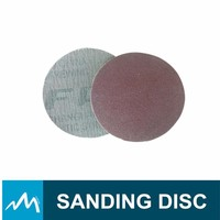 Hard Cloth Backing Velcro Red Sanding Disc