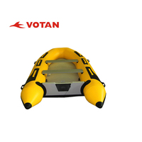 Swift PVC 3.6m length inflatable boat with Plywood, Aluminum,air deck floor