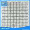 Hot selling 15*15mm Square Carrara White Marble Stone Tile