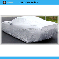190T polyester silver car cover with Citroen C4