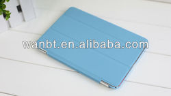 high quality magnetic smart cover case for iPad mini smart cover with sleep and wake function
