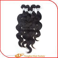 Hot sale unprocessed 5a top grade virgin peruvian hair Yonghui hair