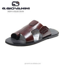 Italian mens leather sandals wholesale african leather beaded sandals