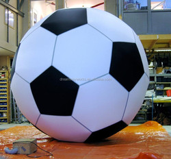 2015 Hot sale big inflatable football for advertising