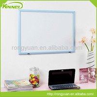 Blue MDF frame erasable magnetic drawing board