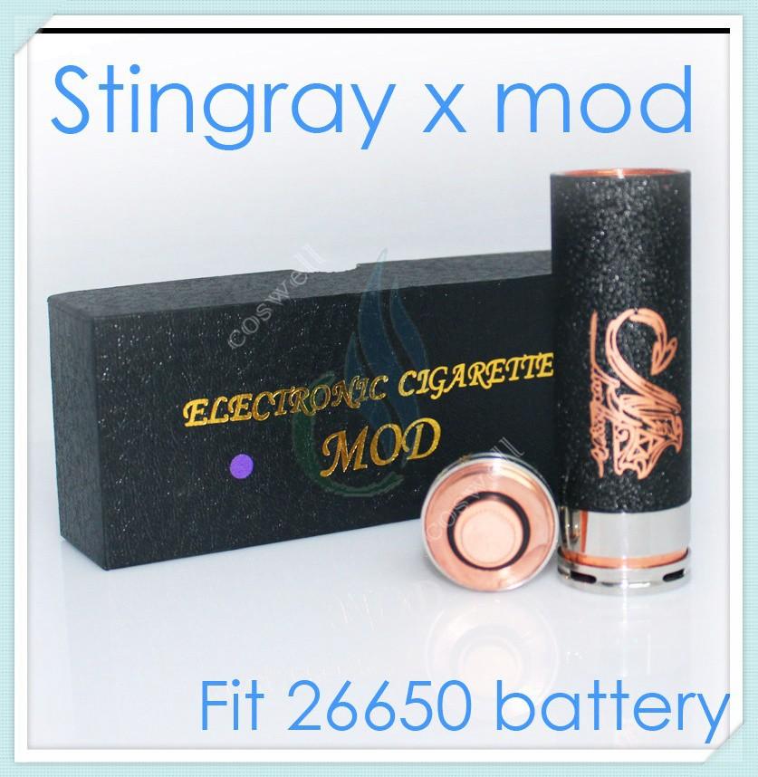 Черный Стингрей x mod клон, бесконечные механический мод тайтла e-cig ската механический мод vs танковая ar