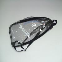 Clear PVC zipper bags/PVC Cosmetics packaging bags/PVC pouches