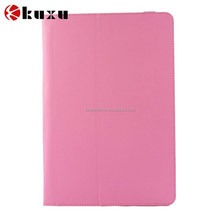 For ipad air 2 standing high quality leather flip case