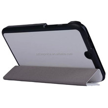 three folding stand leather case For HP Stream 7 inch tablet