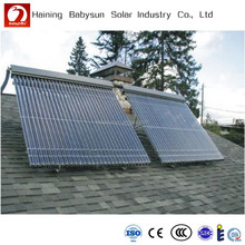 2015 China rooftop evacuated tube solar collector, pressurized solar water heater