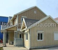 luxury living container modern steel villa