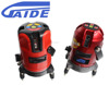 Gaide leveling 5 line 2 point red beam laser level equipment with tripod