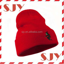 Baby embroidery design your own custom acrylic winter hats