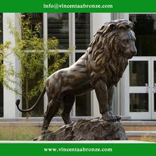 2015 new produced home decoration bronze lion statue canada