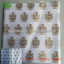 2013 fashion silk paper for garment package