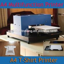 Factory Supply Best Quality Best Price-Stable T-Shirt Garment Printer DTG Flatbed Printer Multifunction Printer A4