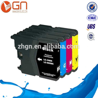 Compatible ink cartridge for Brother LC39 used in Brother DCP-J125/J315W/J515W printer