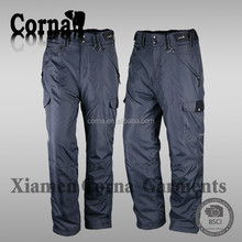 High visibility spring or autumn men polyester oxford cloth casual trousers models