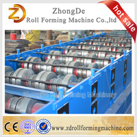 Alibaba china supplier floor decking metal roll forming machine