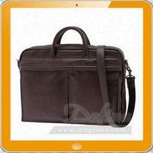 Pu messenger laptop bag