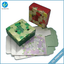 2015 Hot Selling Colorful Attractive Paper Printed Packaging Boxo Lve Birthday Gift Pretty Presents Folding Box Food Candy Boxes