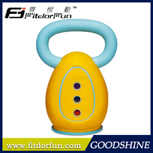 Feva Kettle Bell Classical PP Kettle Body 3 Iron Weights Bodybuilding Kettle Bell Designer
