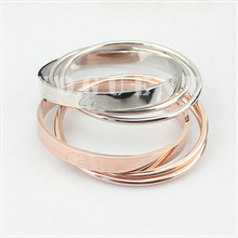 jewelry trading companies in china for rose gold bangles