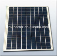 12V 50W Polycrystalline Silicon PV solar panel price
