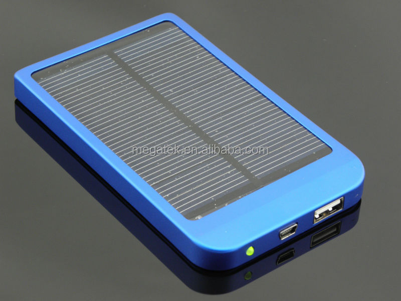 power bank charger polysilicon mobile solar charger 2600mah