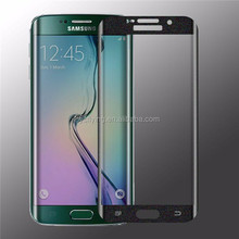 YC smart key tempered glass screen protector for Samsung Galaxy S6 Edge, added a return key on the screen protector