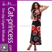 PULS SIZE whosale good design new fasion ankle length bohemian dresses